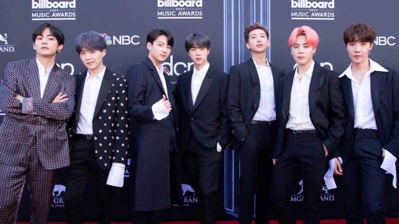 k pop grupo BTS