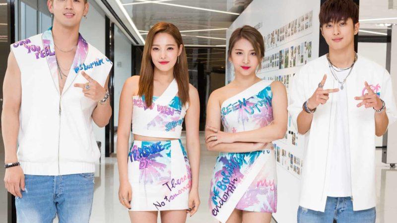 K.A.R.D - Kpop co-ed grupo kard