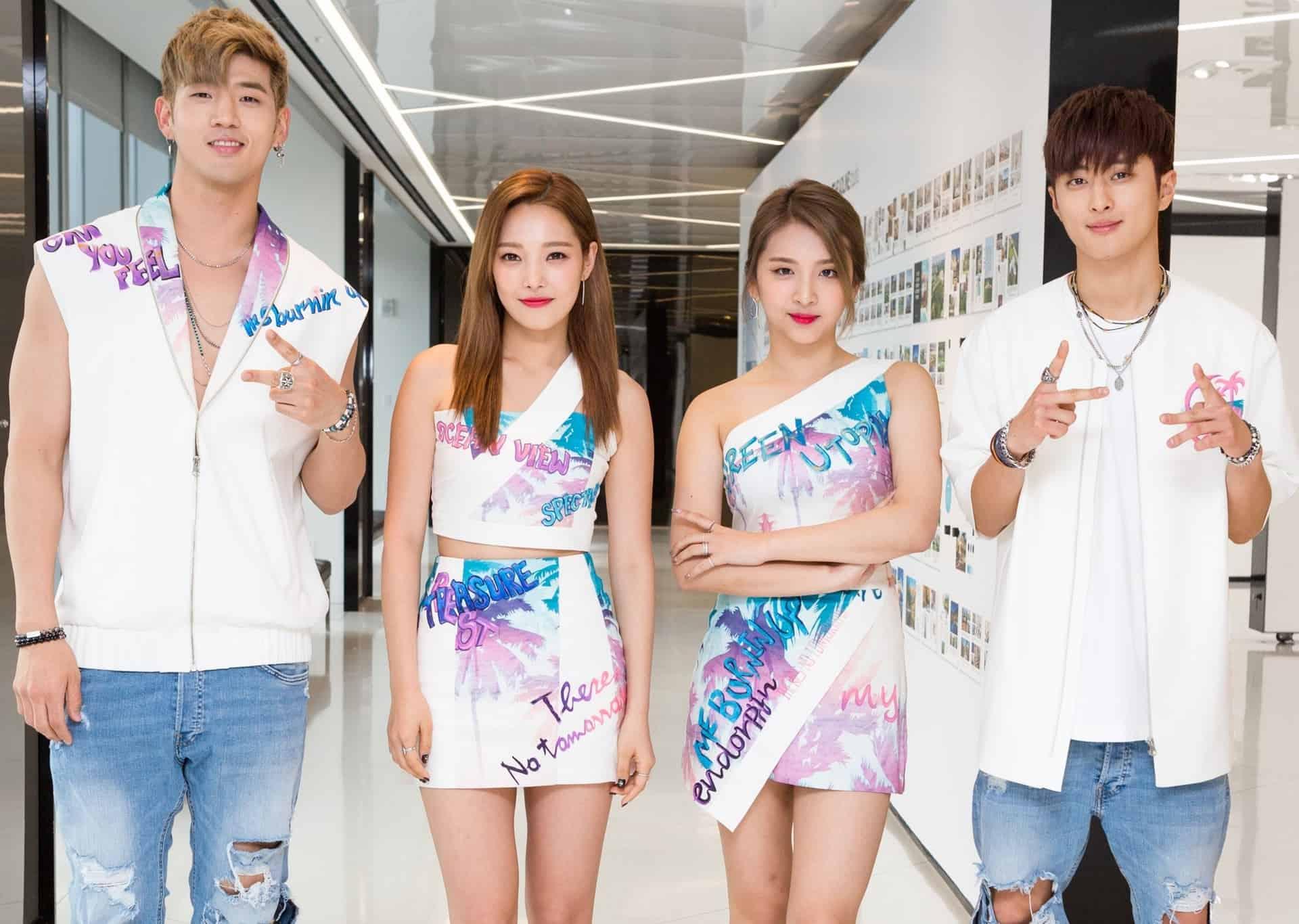 K.A.R.D – Kpop co-ed grupo, perfil, integrantes, idades, alturas e curiosidades