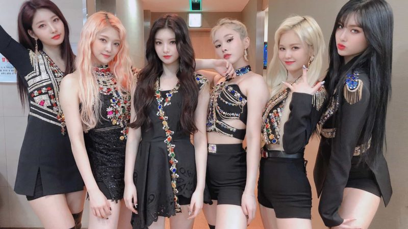 kpop grupo Everglow